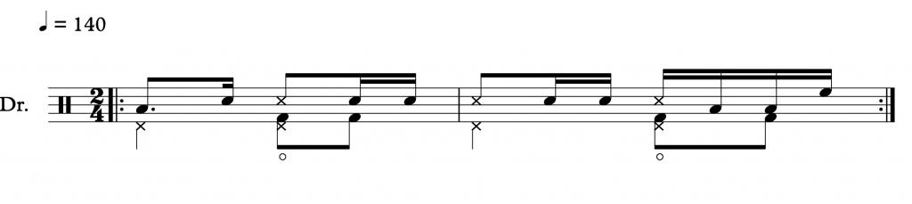 Merengue bass drum