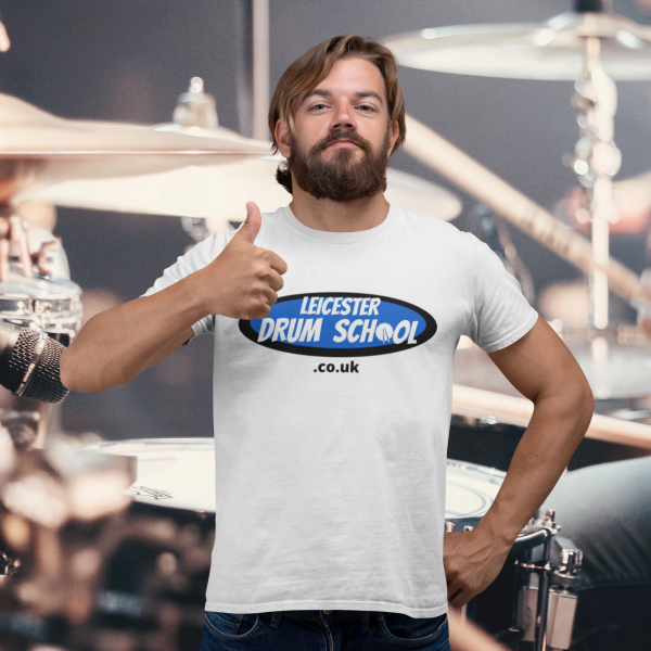 Leicester drum school t-shirt
