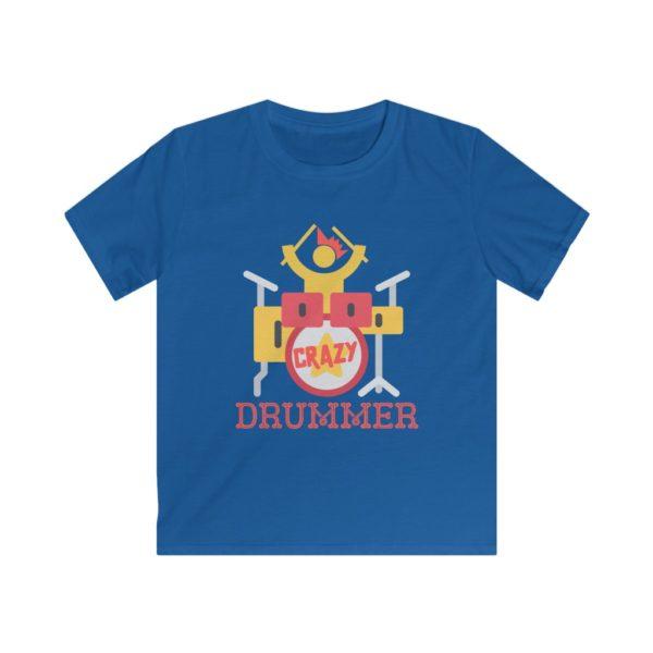 kid's drum tee