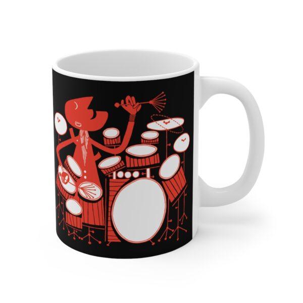 drumming mug