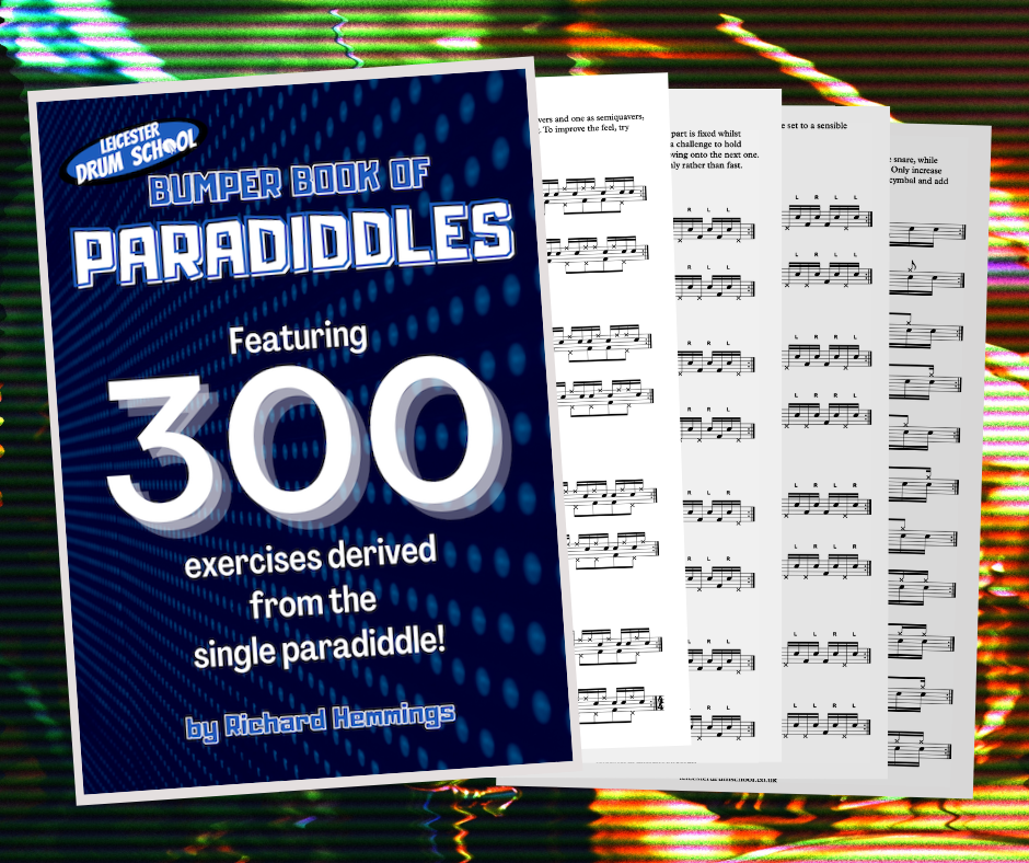 Bumper Book of Paradiddles ad